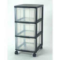 Great for holding miscellaneous items. I stored towels in one level, and used the other two for random items.
